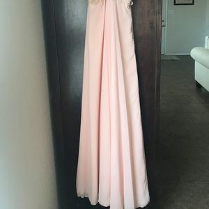 Pink Long Formal Gown